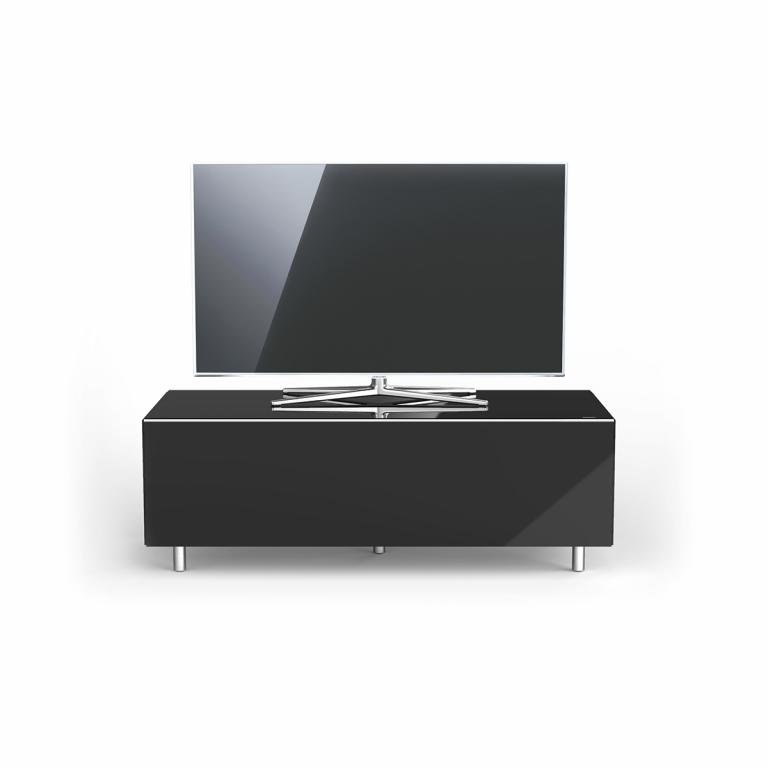 Tv Kast 110 Cm Breed.Spectral Just Racks Tv Meubel Jrl1100t 110cm Zwart Ovy Nl